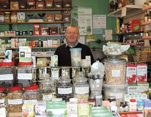 Charles Hool of John Hool Herbalist Bolton Market