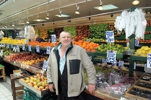 Danny Bates of Bates Brothers Bolton Market