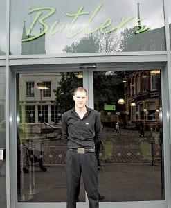 Danny Moffett of Butlers Blackburn Market