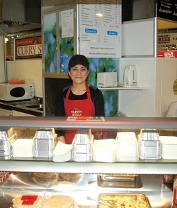 Jainab Patel of The Curry Stall Blackburn Market