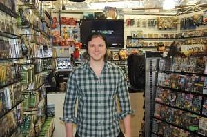 Lewis Waddington of Gamer Blackburn Market
