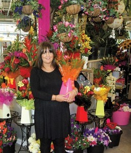 Lorraine Johnson of Le RainFlorist Blackburn Market