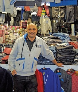 Mass Ahmed of Mass Jeans Blackburn Market