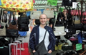 Robbie Coleman of Rob's Bags Romford Market