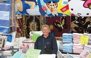 Rosie Mudd of Imporium Trading Romford Market