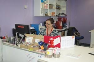 Tracey Halleron of Parcels & Post Blackburn Market