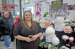 Jenny Dalkin of 'Merryweather Flowers' Great Homer Street Market