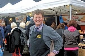 Nick White of 'Nicks' Great Homer Street Market
