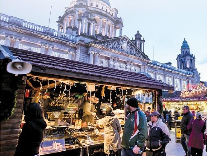Belfast Christmas Market 1