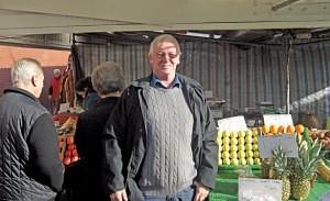 Bill Emery of Emerys Bilston Market