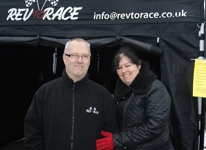 Cliff and Susan Howell of Rev to Race Blackbushe Market