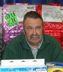 Derek of D.W. Automotives Blackbushe Market