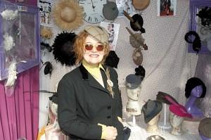 Jeanne Pacella of 'Bella Pacella.' Old Spitalfields Market