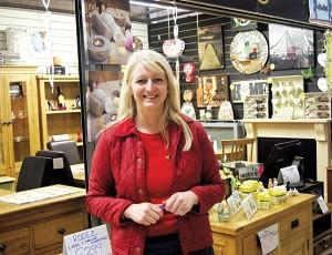 Liz Spooner of Kel Furnishings Bilston Market