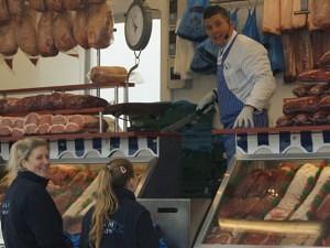 Mike Jacobs of D&M Meat Auctions Blackbushe Market
