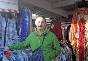 Nigel Smart of Chainstore Clothing Bilston Market
