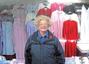Ruth Sutton of Mrs Knickers Bilston Market