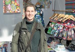 Sharon Morris of 'Minimod.' Old Spitalfields Market