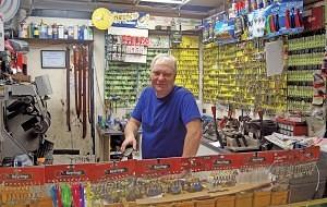 Chris Simpson of 'Shoe Repairs & Keys Cut' Washington Market