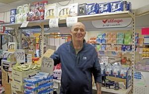 Ian Elcoat of 'Spend 'N' Save' Washington Market