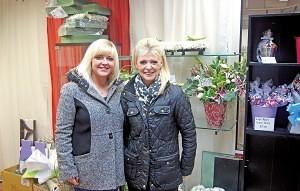 Paige and Lorraine Gaddes of 'Patsy's Blossoms' Washington Market
