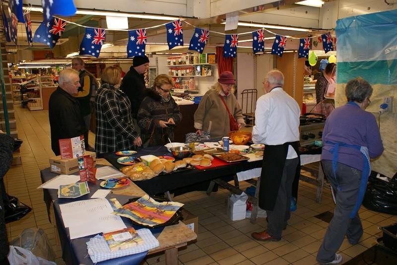 Australia day Preston Market