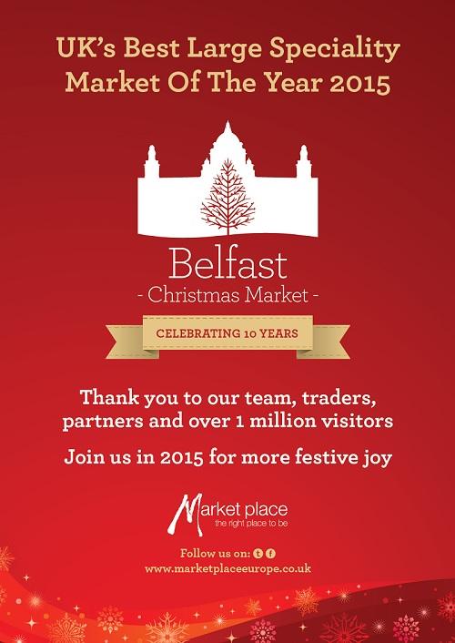 Belfast Christmas Market 2015