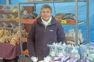 Judith Kirkbride of 'I.A. Pet Supplies' Keswick Market
