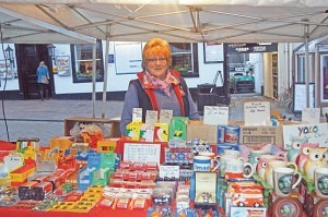 Margery Stockdale of 'Stockdale's' Keswick Market