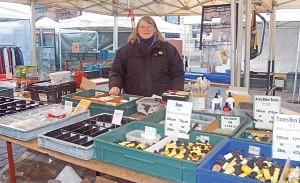 Muriel Wilkinson of 'Wilkinson's' Keswick Market