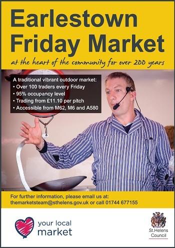 Earlestown market ad