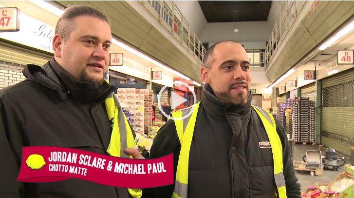 Jordan Sclare and Michael Paul