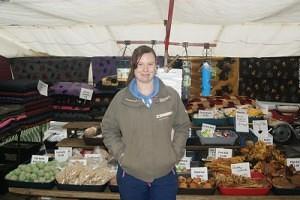 Charlotte Foxcroft of 'Market Pets' Skipton Market