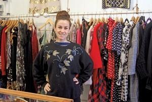 Gabrielle Abbott of 'Woo Woo Boutique' Brixton Village Market Row