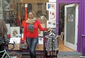 Jue Daily of 'Bella West' Brixton Village Market Row