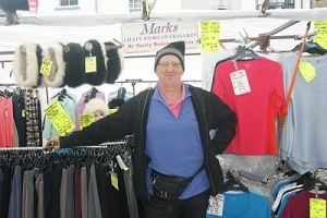 Mark Howard of 'Howard's' Skipton Market