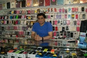 Mohammad Ali of Gr Mobile Stratford Market