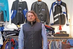 Richard Caraffi of 'Tique Booty' Brixton Village Market Row