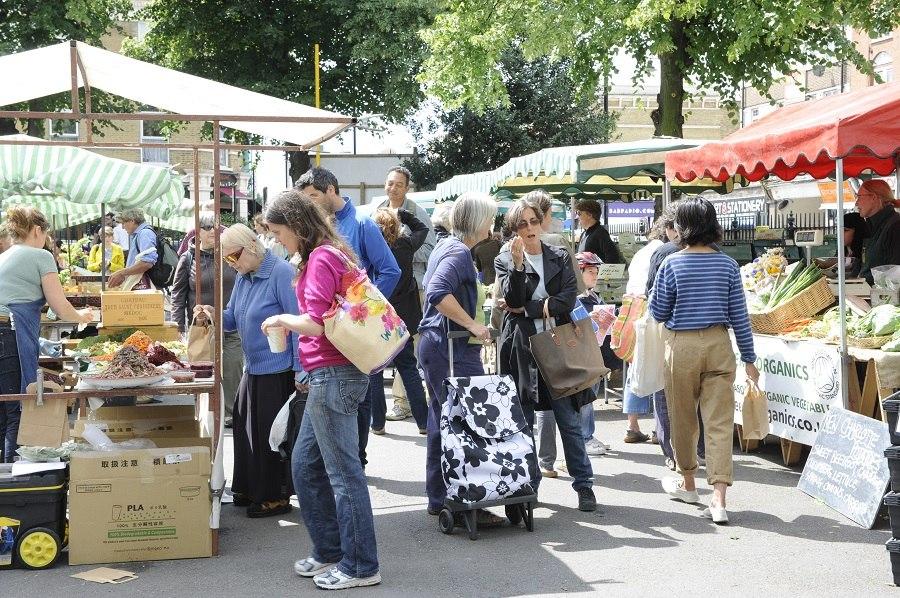 St Pauls Market Image courtesy of Growing Communities