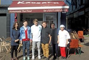 The Staff of 'Kaosarn' Brixton Village and Market Row