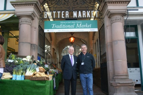 David Murrell Market Manager and Kevin Hulme Superintendent