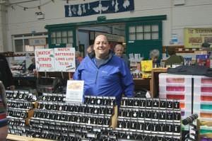 John Titley of Kat Titley Jewellery Leek Market
