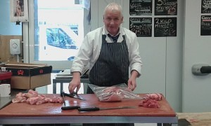 Anothy Cuthbert from Garys Meats Freeman Street Market