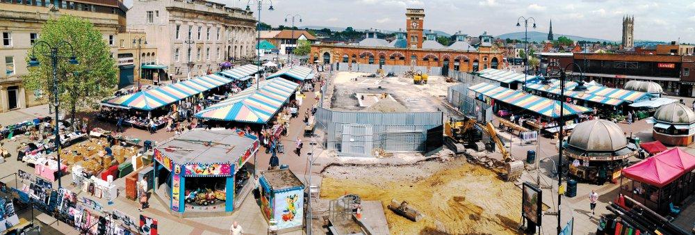 Ashton Market redevelopment 1