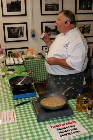 Chef Geoff Tookey