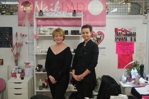 Diane Warrender and Megan Ellams of Nail Bar Chester Market