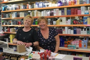 Fran and Jan of The Beauty Box Chester Market