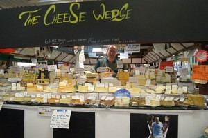 Ian Hall of The Cheese Wedge Chester Market