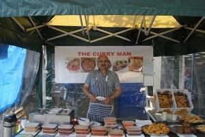 Camran Sadiq, The Curry Man Swadlincote Market