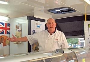 Ian Rippon, owner of Melton Deli Swadlincote Market